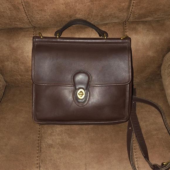 coach bags vintage leather willis bag serial j4d9927 poshmark rh poshmark com
